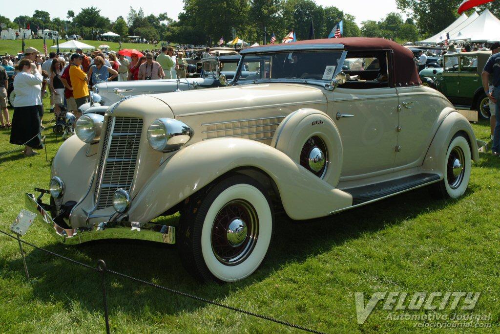 1935 Auburn 851 cabriolet