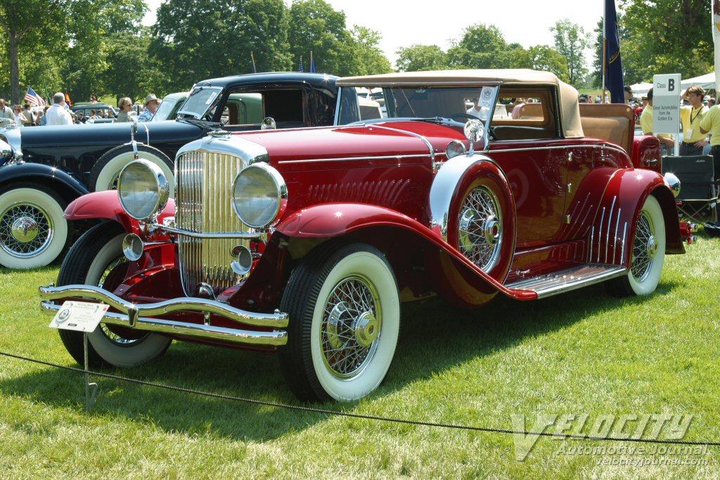 1932 Duesenberg Model J Murphy Convertible Coupe