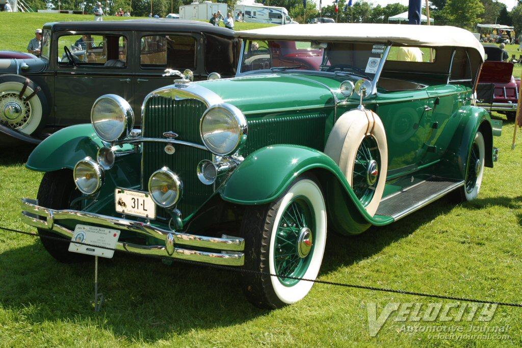 1931 Lincoln Murphy Dual Cowl Phaeton