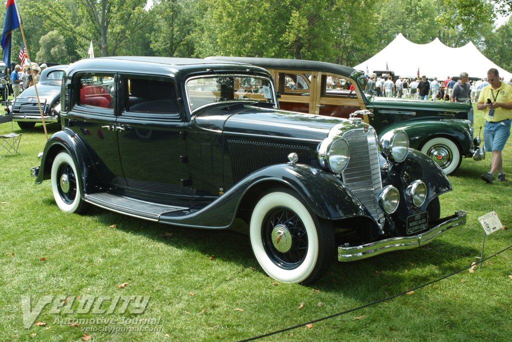 1933 Lincoln Ka Information