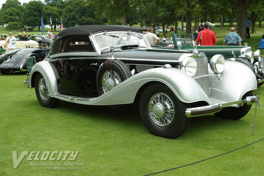 1937 Mercedes-Benz 540K Cabriolet