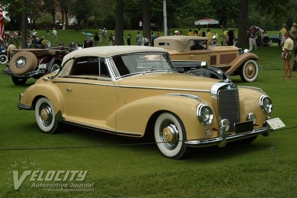 1955 mercedes benz 300s cabriolet information for Mercedes benz 300s
