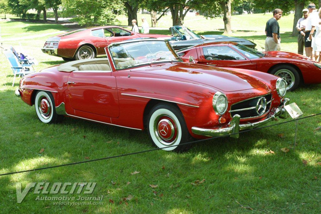 1963 Mercedes-Benz convertible coupe