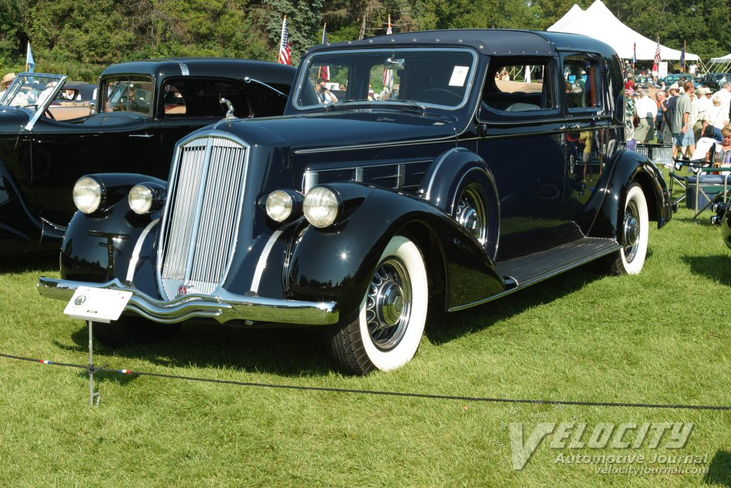 1936 Pierce-Arrow 12 Durham Town Car