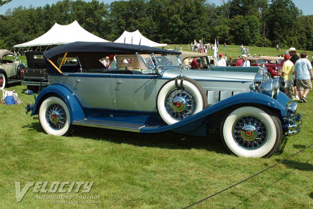 1931 Packard Dual Cowl Phaeton