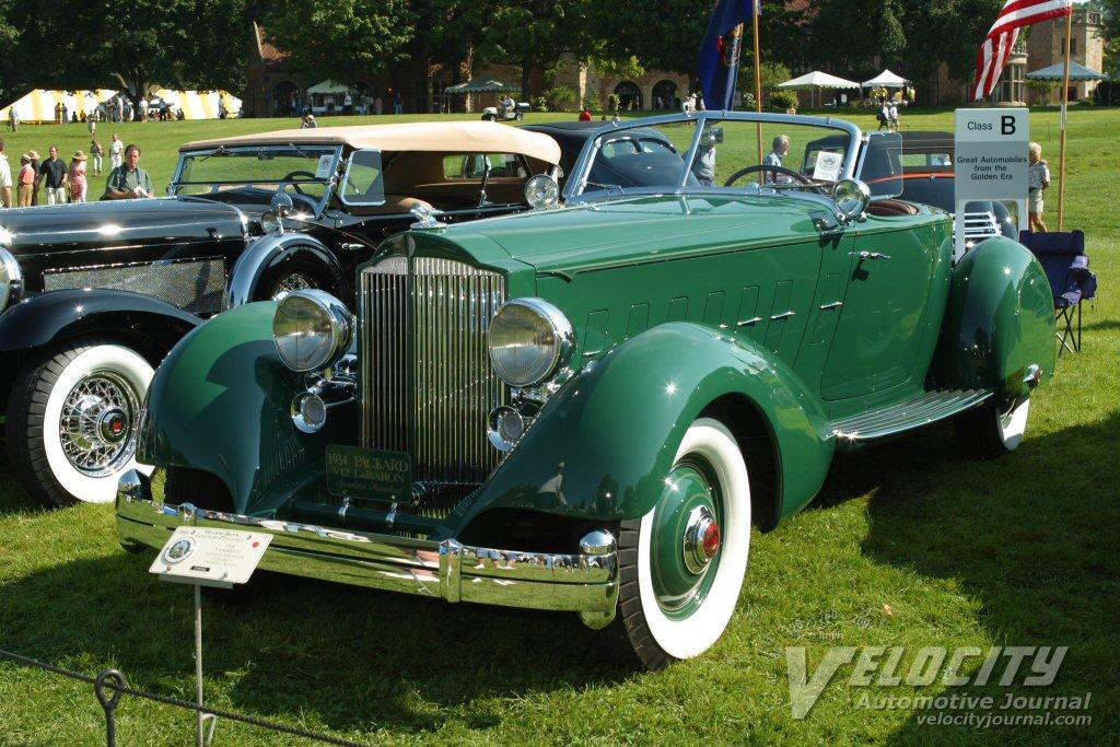1934 Packard 12 LeBaron Speedster Runabout