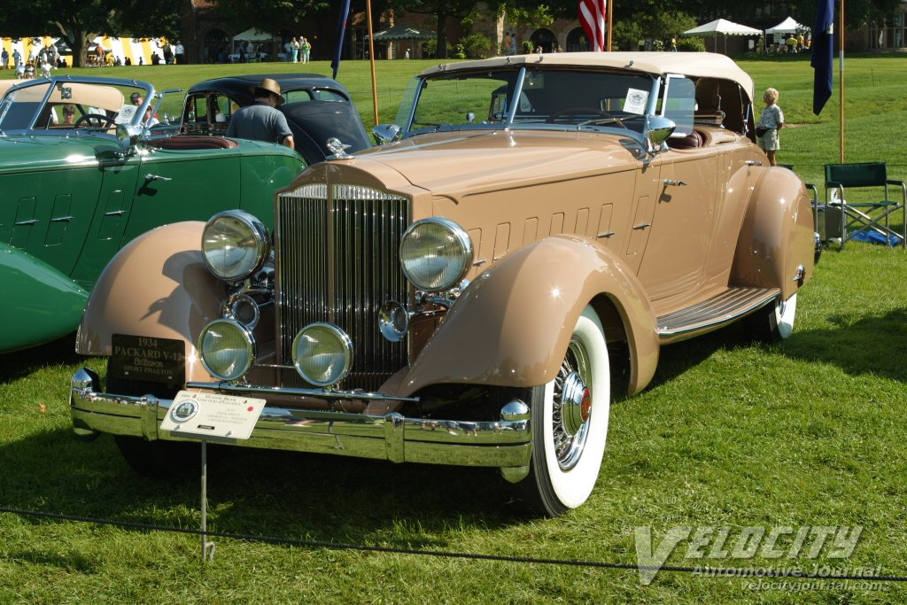 1934 Packard LeBaron Sport Phaeton