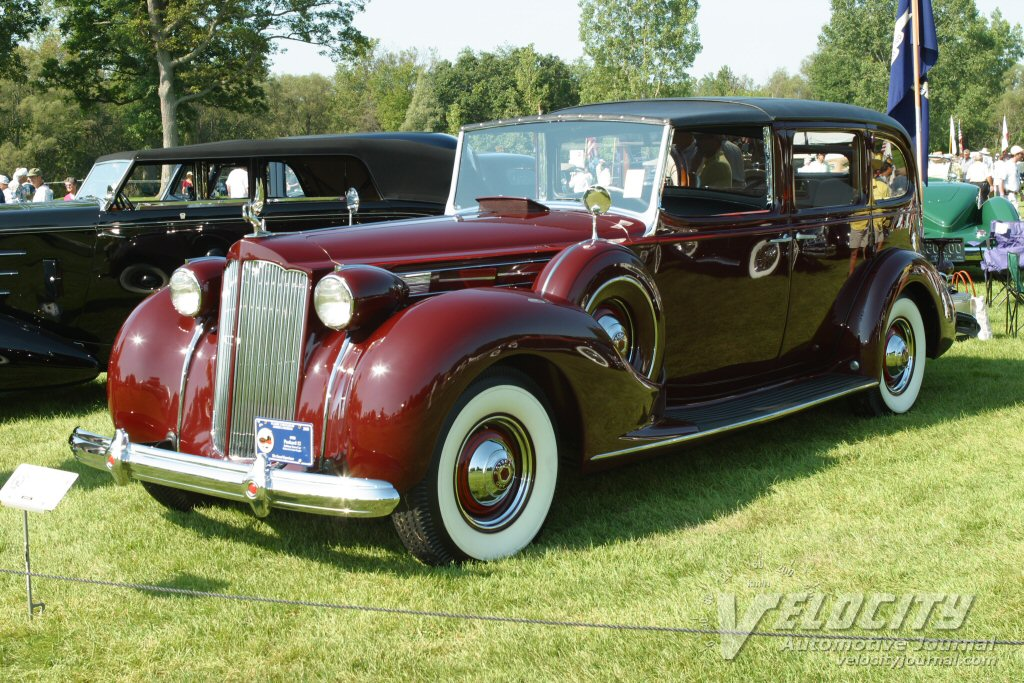1938 Packard 12 Rollston Town Car