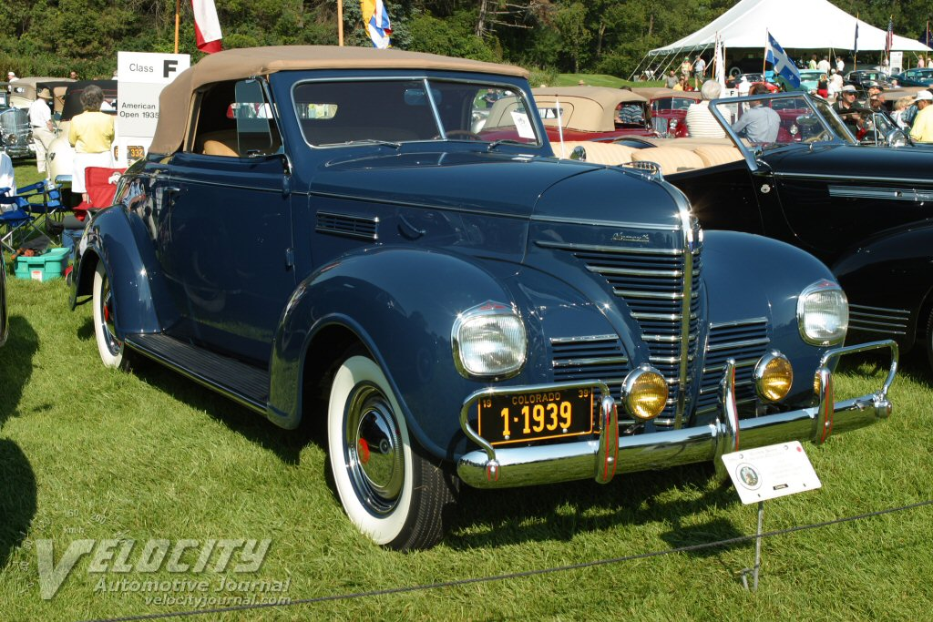 1939 Plymouth Convertible Coupe