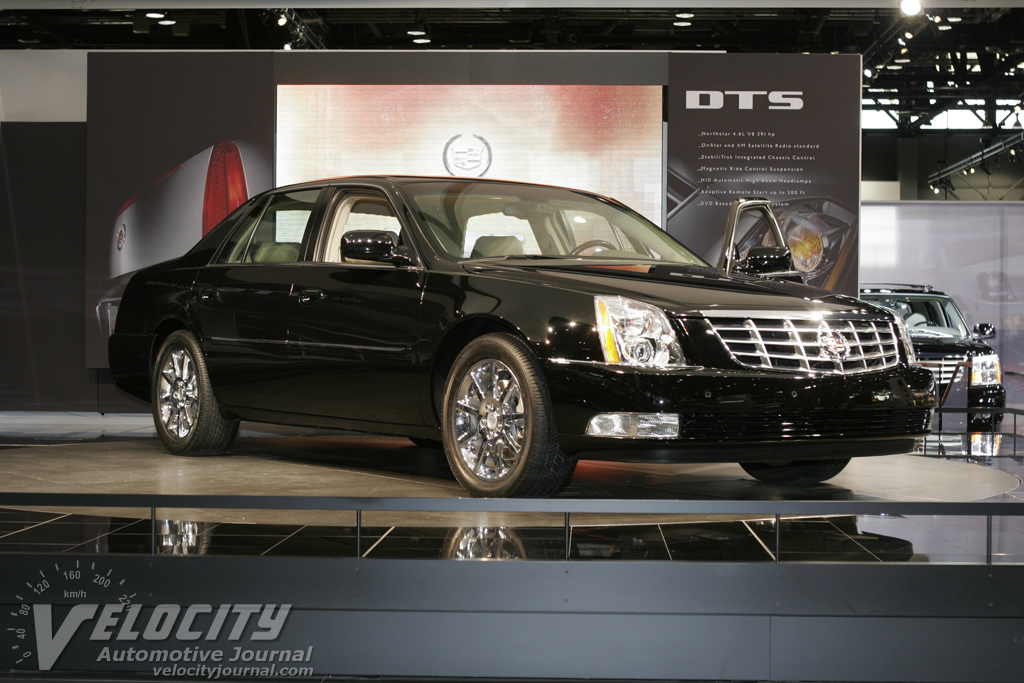 2006 cadillac dts in black