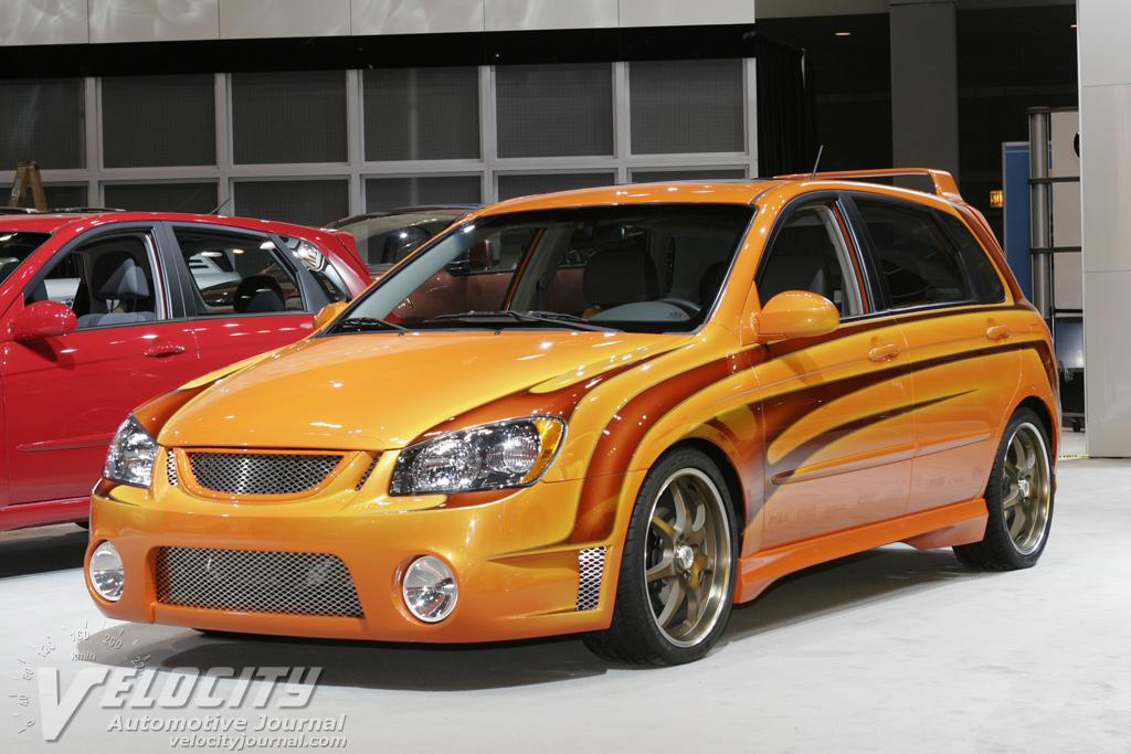2004 Kia Spectra5 Firestorm SEMA car