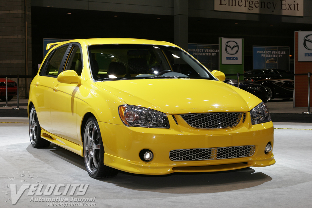 2004 Kia Spectra5 Flash SEMA car
