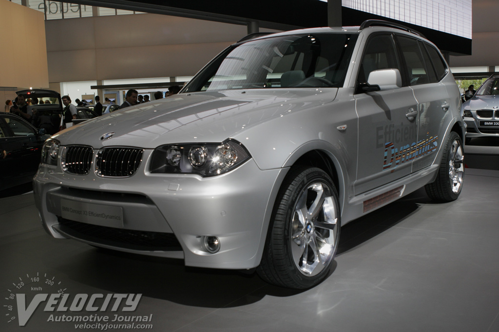 2005 BMW Concept X3 EfficientDynamics