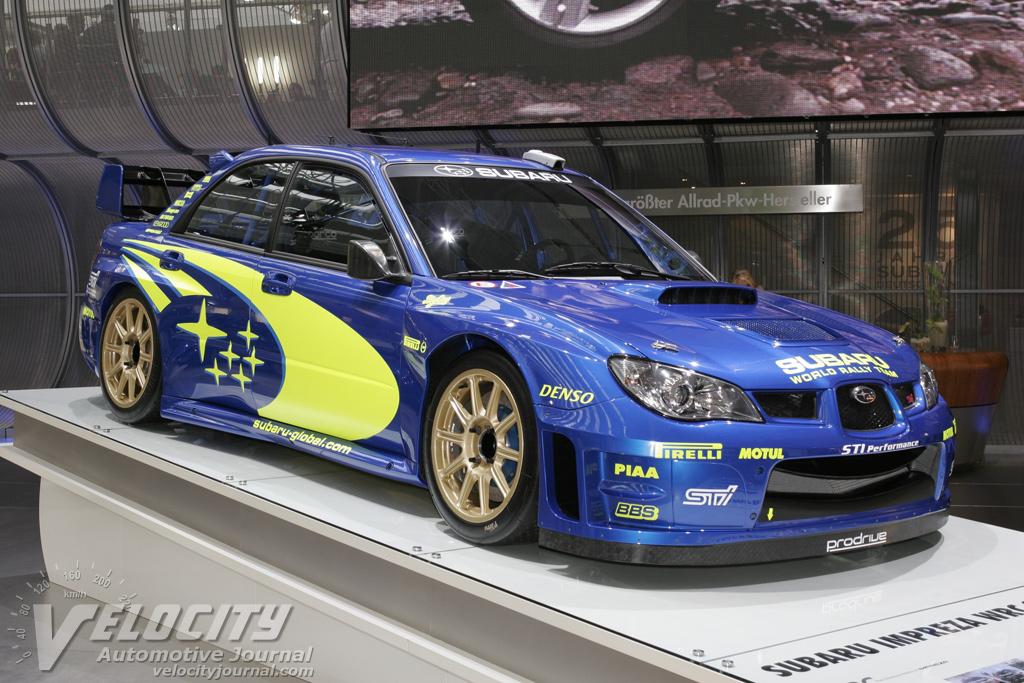2006 Subaru WRC Prototype