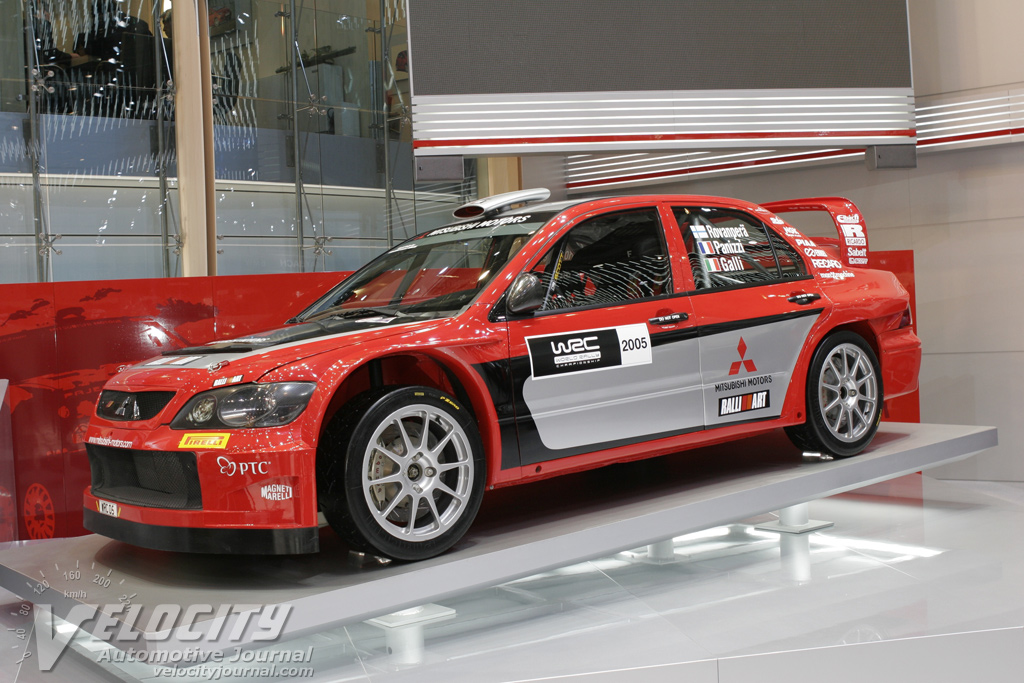 2005 Mitsubishi Evolution WRC car