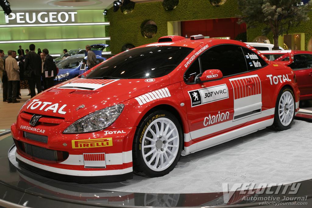 2005 Peugeot 307 WRC car