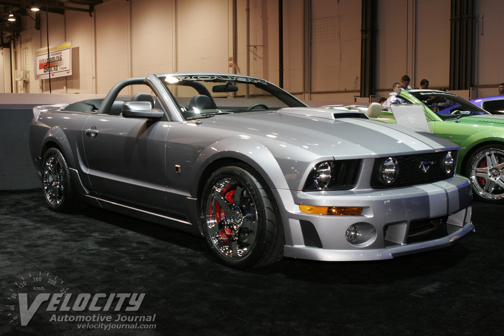 2005 ford mustang convertible by roush performance information. Black Bedroom Furniture Sets. Home Design Ideas