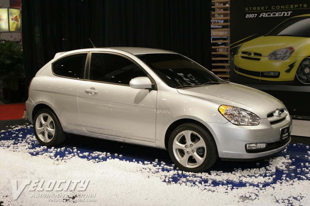 2007 Hyundai Accent 3d