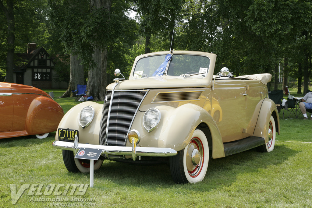 1937 Ford Model 78 Sedan Convertible