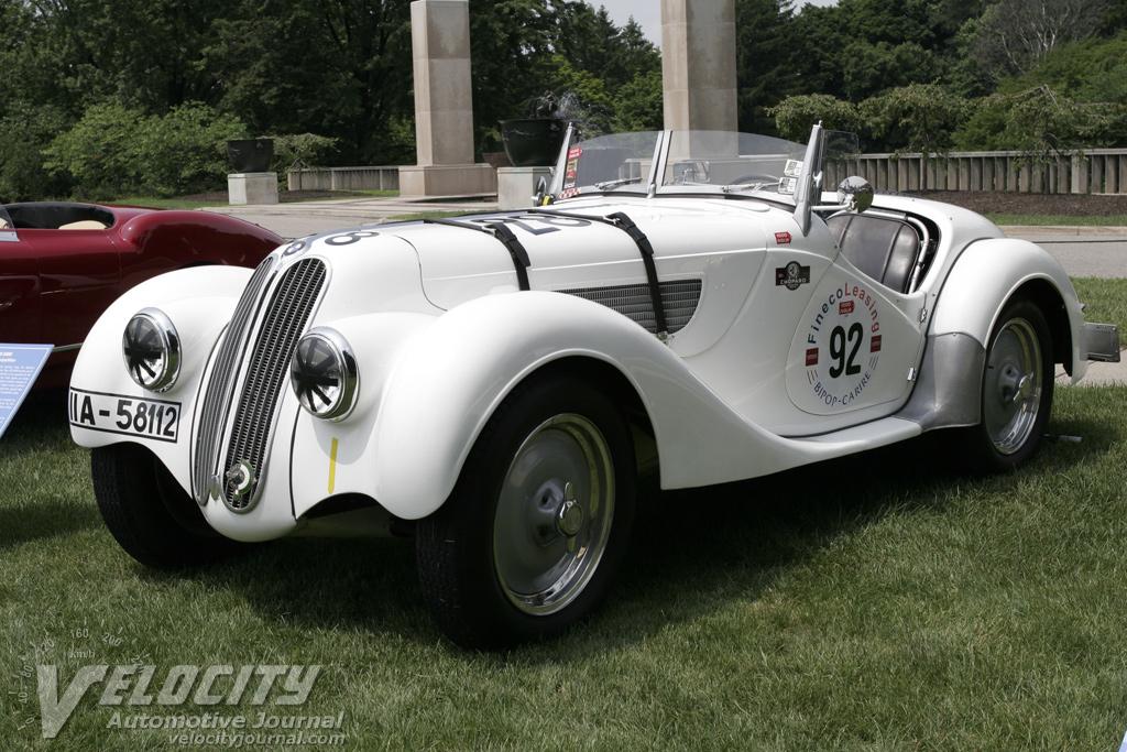 1938 BMW 328 NSKK information