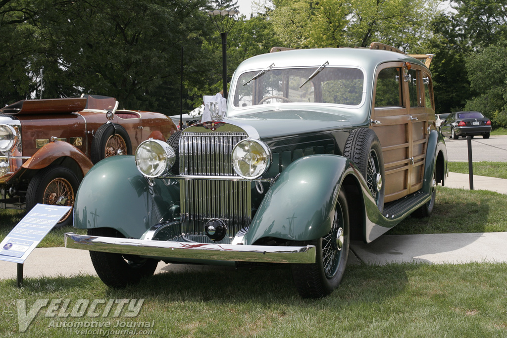 1937 Hispano-Suiza K6 Shooting Brake