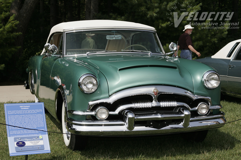 1953 Packard Mayfair / Caribbean
