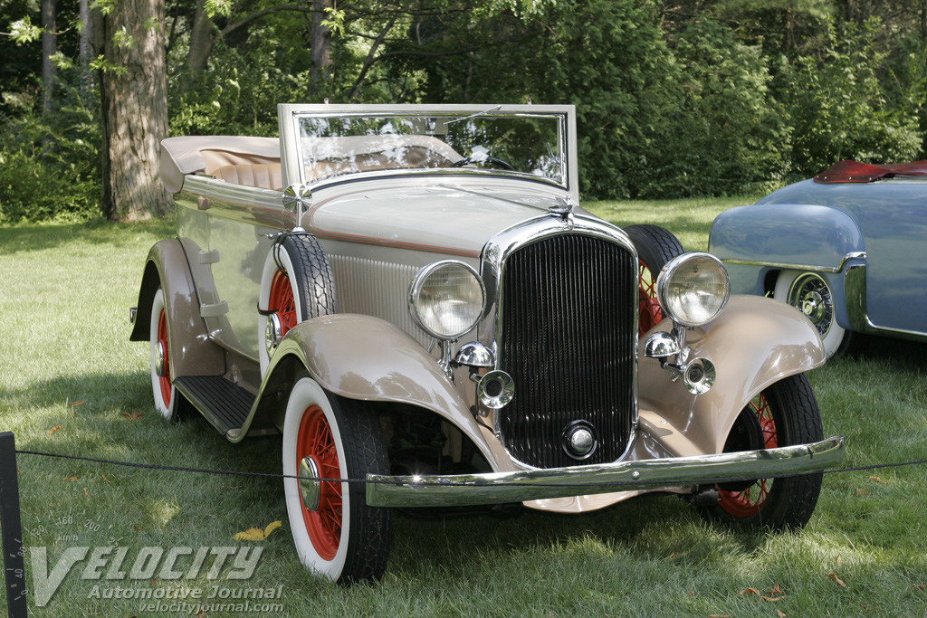 Picture Of 1932 Plymouth Model Pb Convertible Sedan
