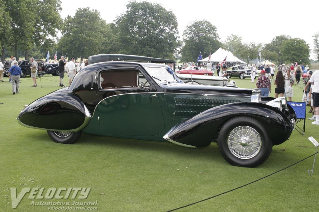 1939 Bugatti Type 57C Gangloff coupe
