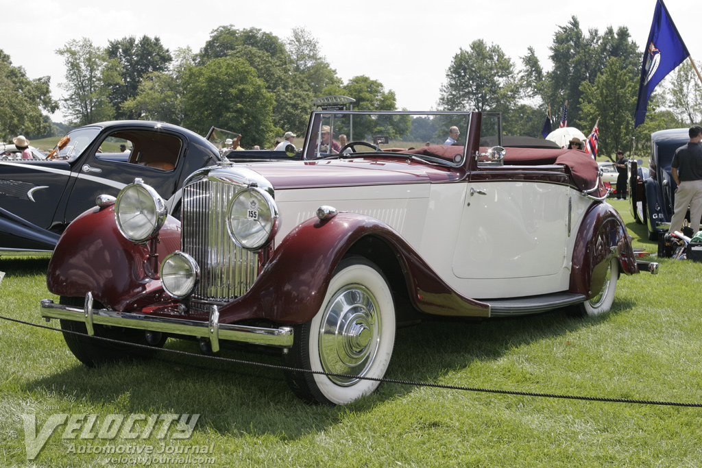 1936 Bentley 4 1/4 liter Drophead Coupe