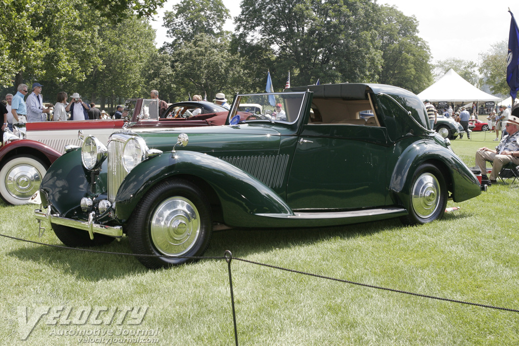 1937 Bentley 4 1/4 Liter Sedanca coupe