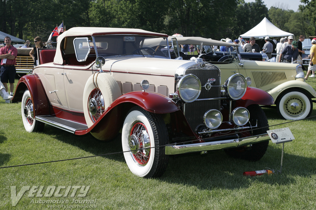 1931 Cadillac Roadster information