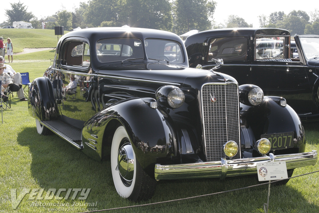 1937 Cadillac Series 90 Stationary Coupe