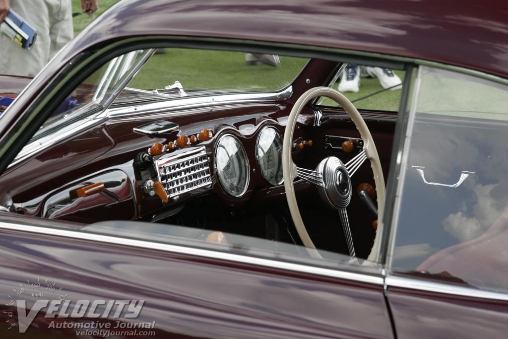 1947 Cisitalia 202 Interior