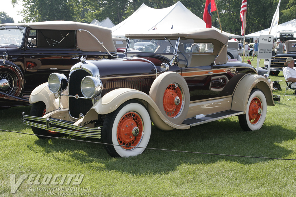 1928 Chrysler Rumble Seat Roadster