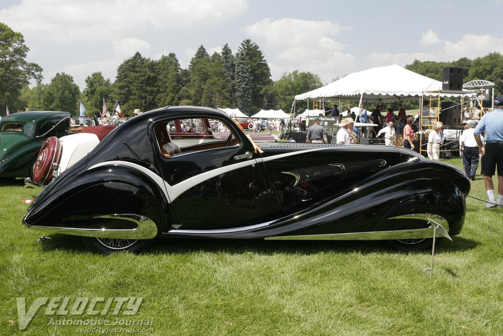 1936 Delahaye Falaschi Coupe
