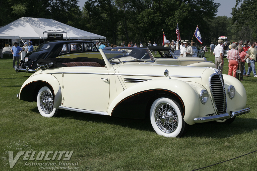 1949 Delahaye 135M convertible