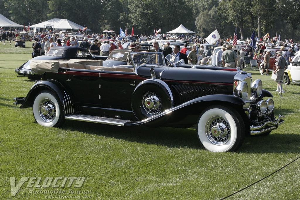 1932 Duesenberg Model J Murphy Convertible Sedan