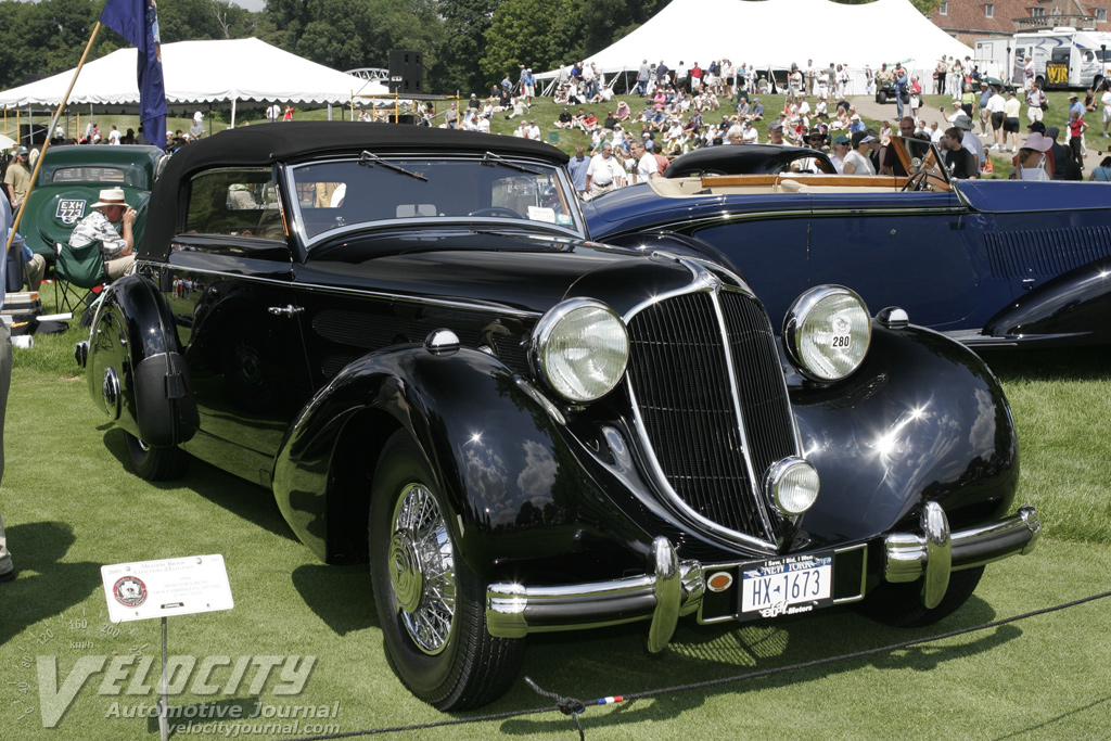 1936 Mercedes-Benz 540K Cabriolet Coupe Special