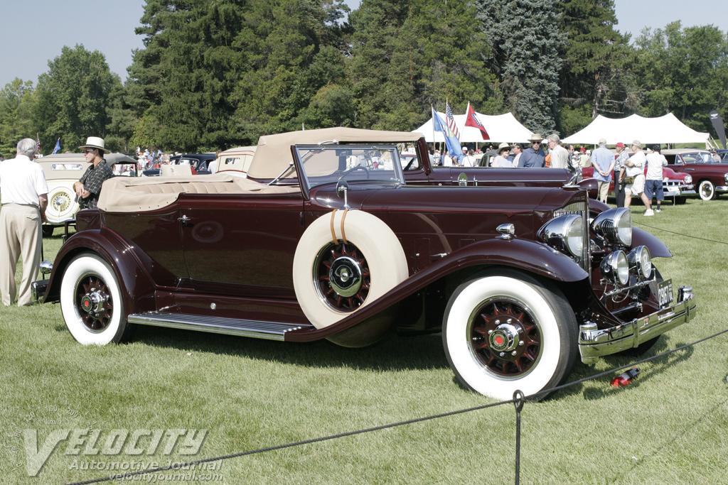 1932 Packard Twelve Convertible Victoria