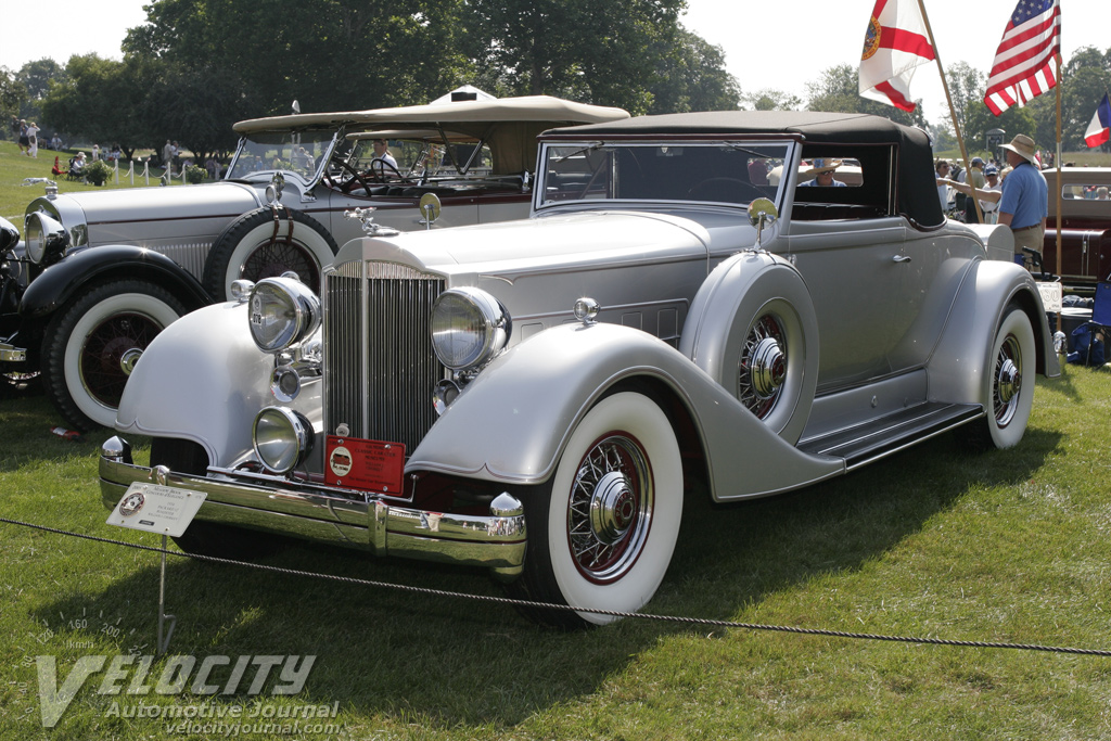 1934 Packard Twelve Roadster