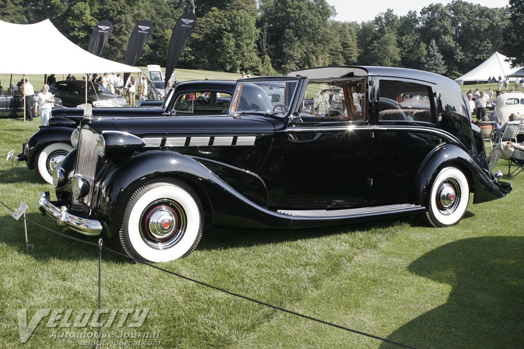 1938 Packard Barker Sedanca Deville