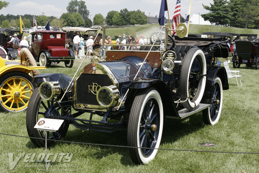1910 REO Model S Demi-Tonneau