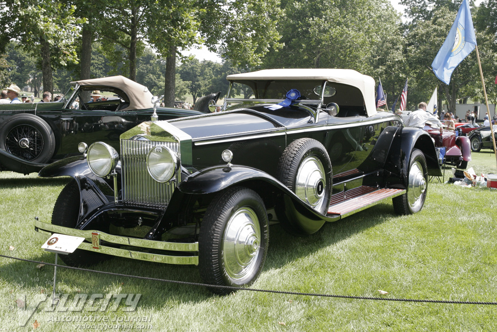 1929 Rolls-Royce PI York Roadster