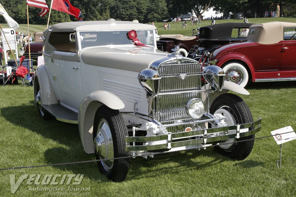 1929 Stutz Model 8 Victoria Convertible