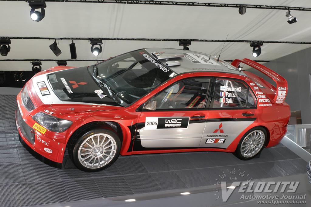 2005 Mitsubishi WRC car