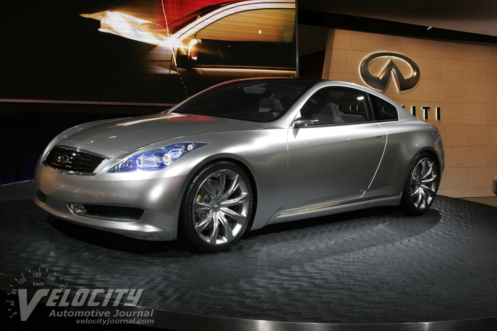 2006 Infiniti Coupe Concept Pictures