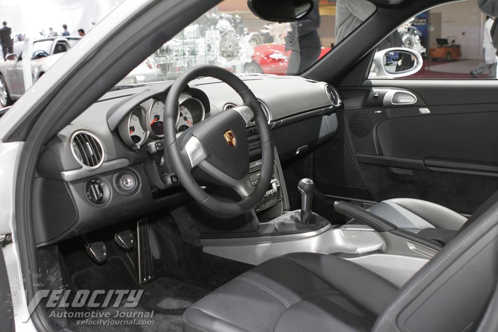 2006 Porsche Cayman Interior