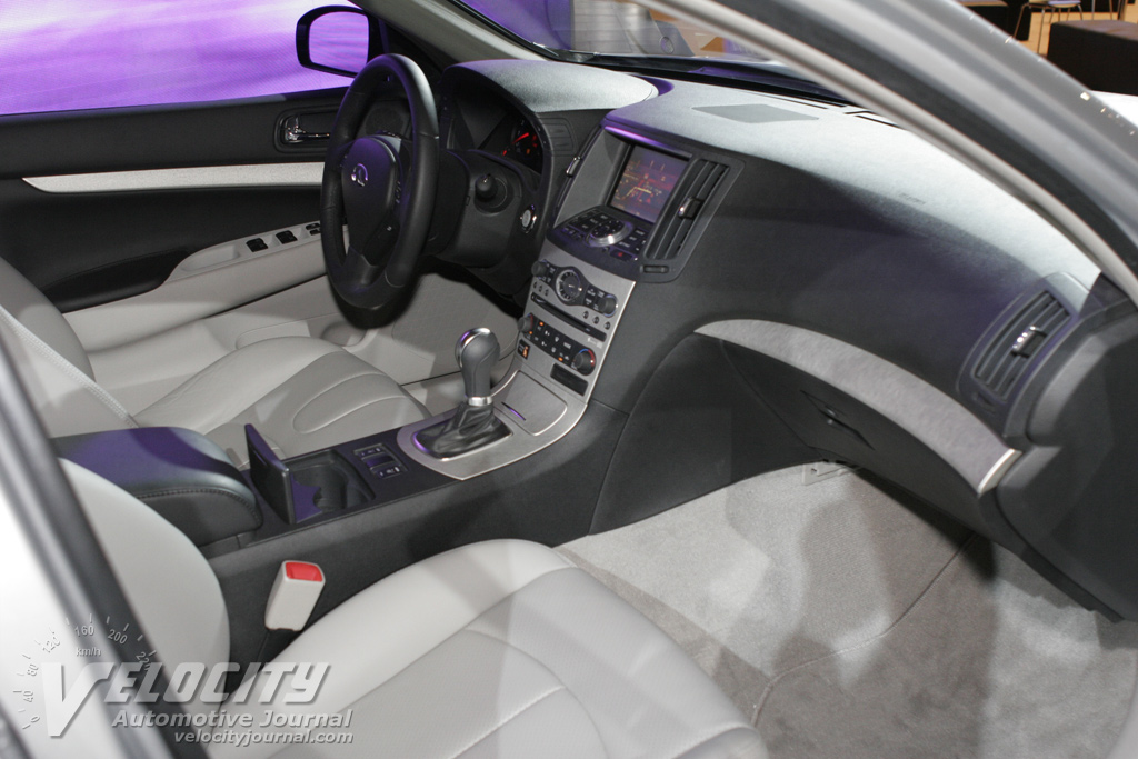 2007 Infiniti G35 Coupe Interior The Image Kid Has It