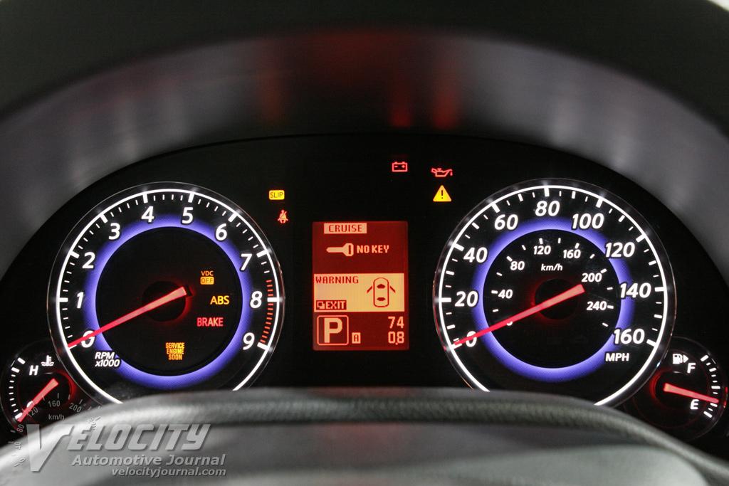 2007 Infiniti G35 Sedan Instrumentation