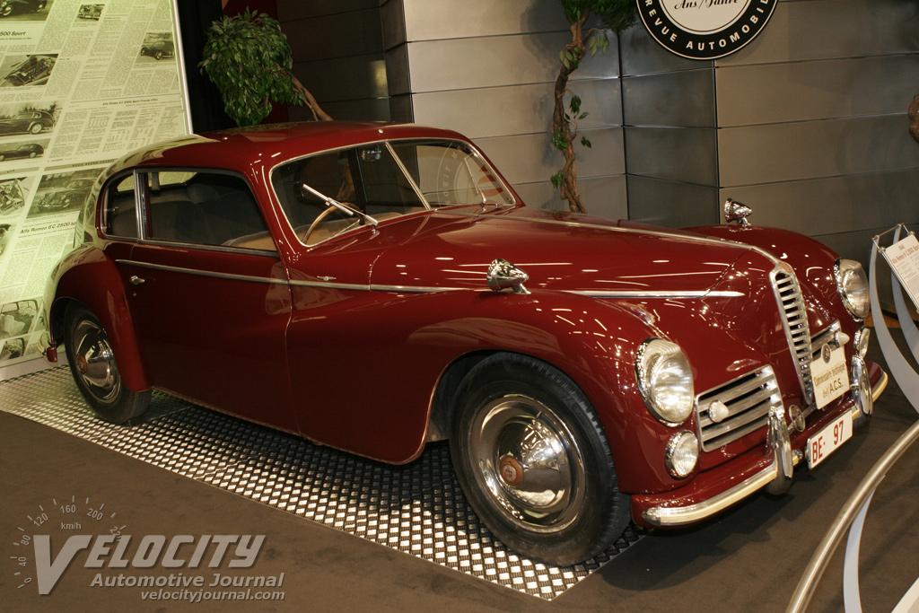 1948 Alfa Romeo 6C 2500 Sport